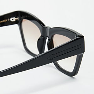 b04e2ba89a Karen Walker Accessories - KAREN WALKER TREASURE MODIFIED CAT EYE SUNGLASSES